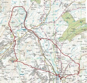 Yorkshire Three Peaks Map